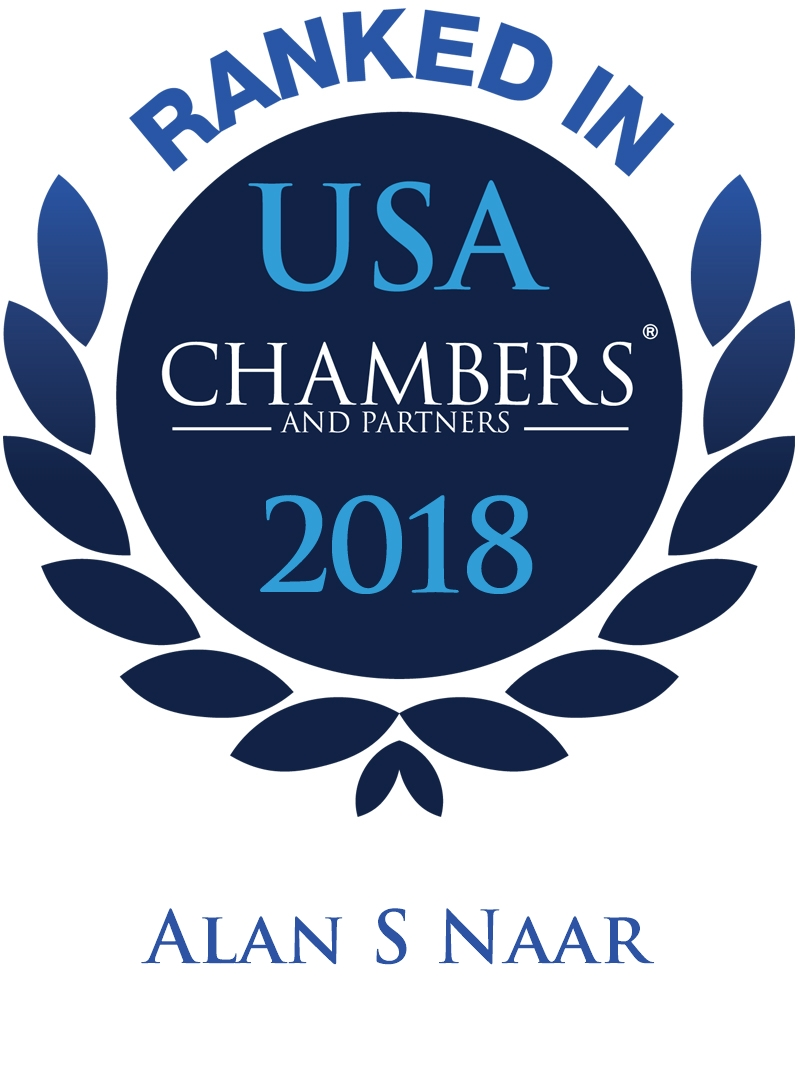 Alan S. Naar Ranked In Chambers USA 2018