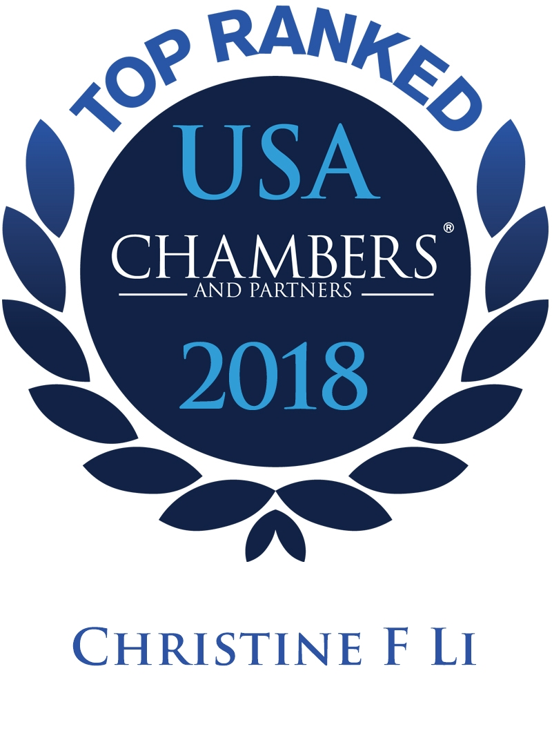 Christine F. Li Ranked In Chambers USA 2018