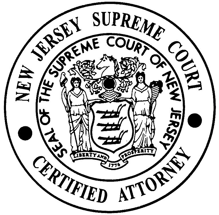 Certified by the Supreme Court of New Jersey as a Matrimonial Law Attorney