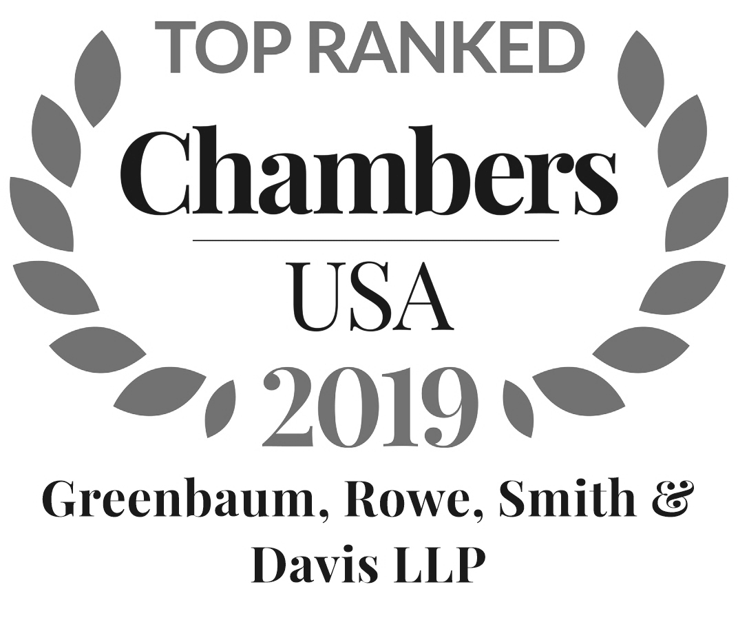 Greenbaum, Rowe, Smith & Davis LLP Ranked in Chambers 2019