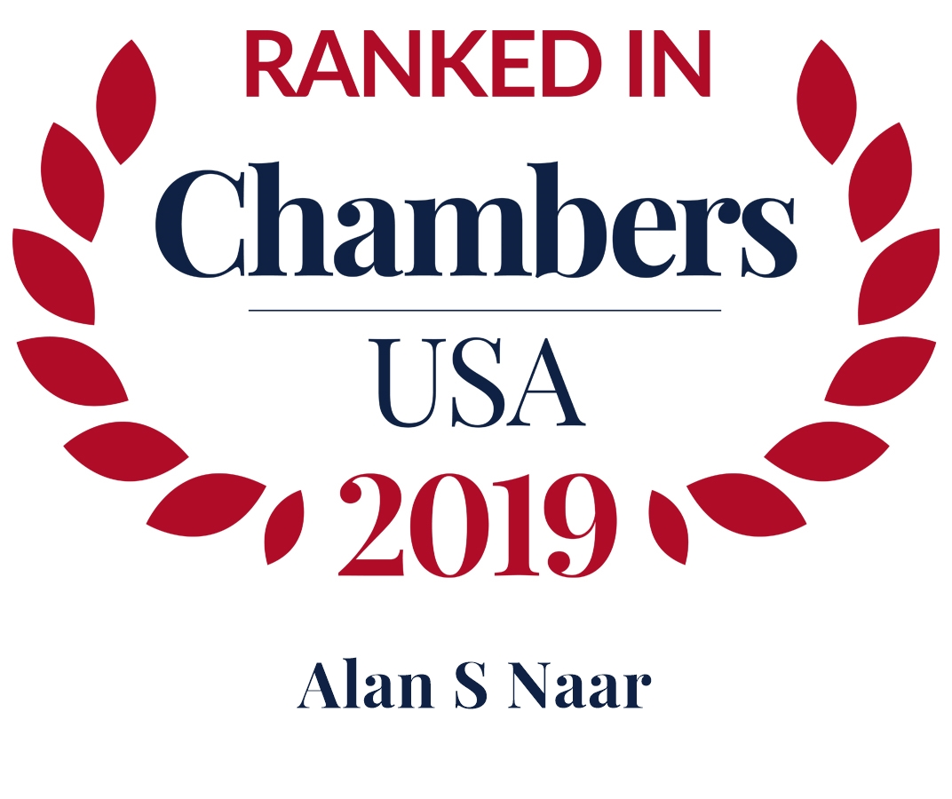 Alan S. Naar Ranked in Chambers USA 2019