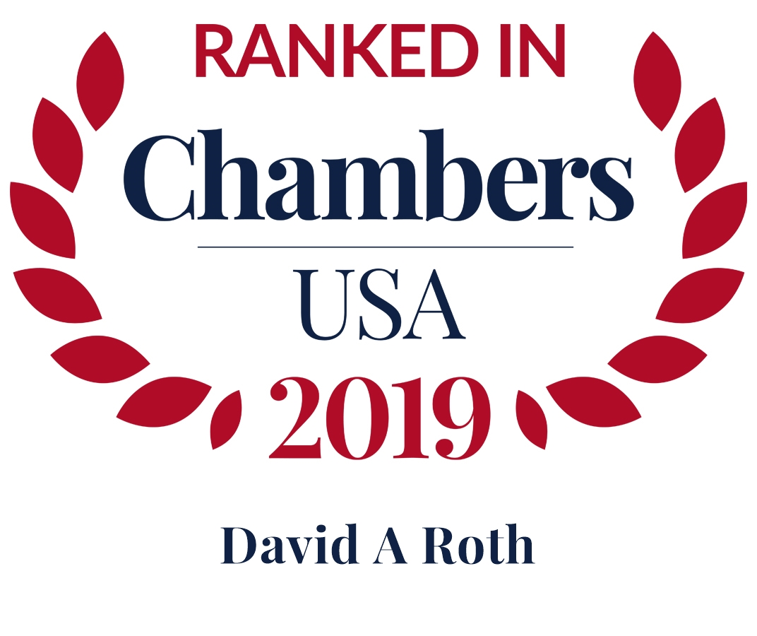 David A. Roth Ranked in Chambers USA 2019