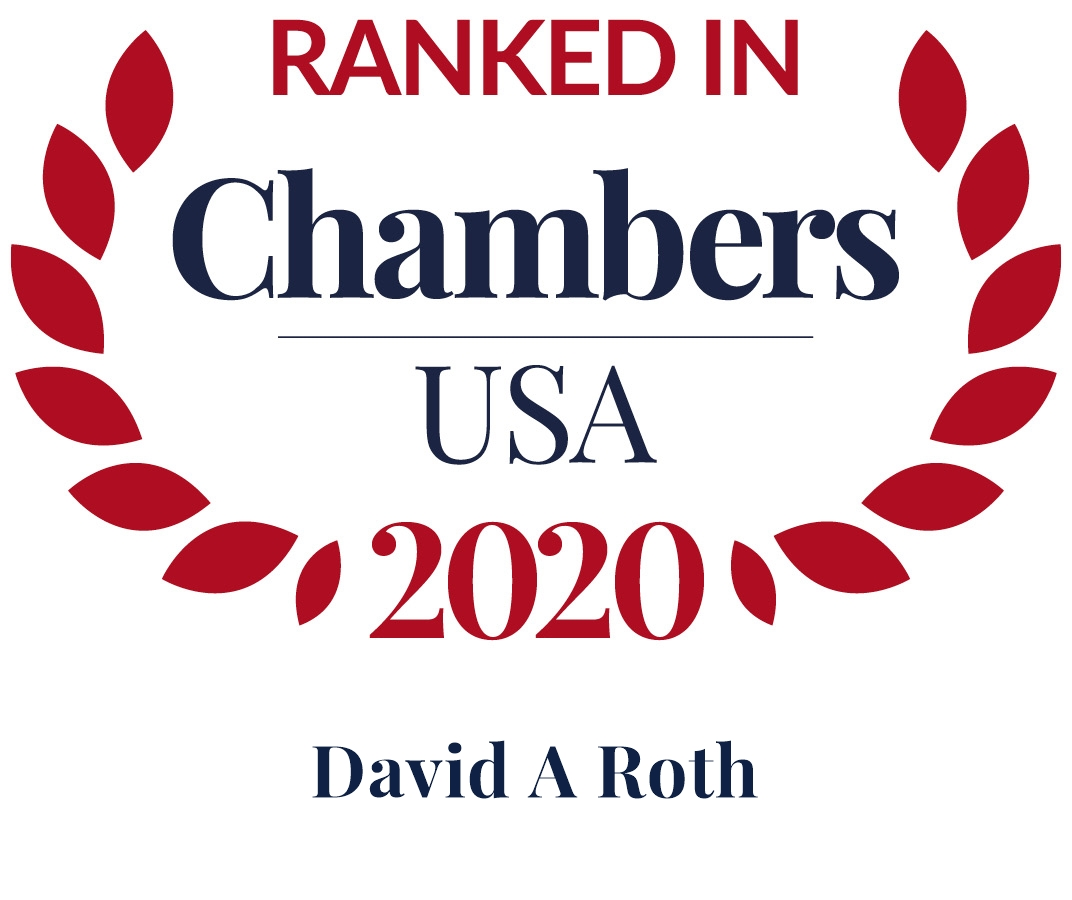 David A. Roth Ranked in Chambers USA 2020