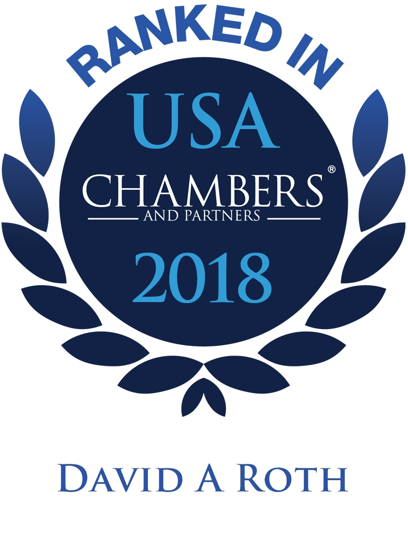 David A. Roth Ranked In Chambers USA 2018