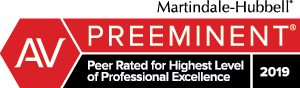 Jacqueline M. Printz Martindale-Hubbell Peer Review Rated AV Preeminent