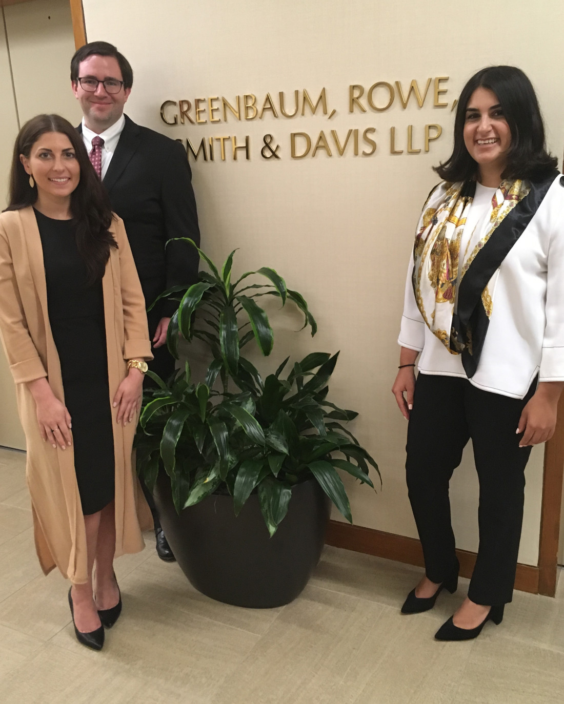 Brooke Emery, Robert Nuse and Marjan Moussavian - 2018 GRS&D Summer Associates