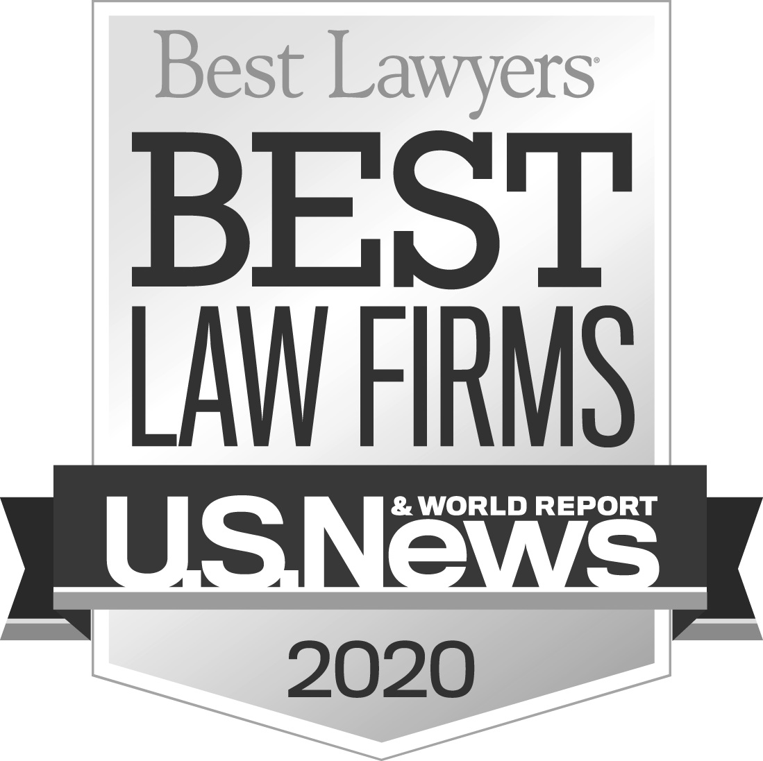 "U.S. News & World Report and Best Lawyers ""Best Law Firm"" 2020"