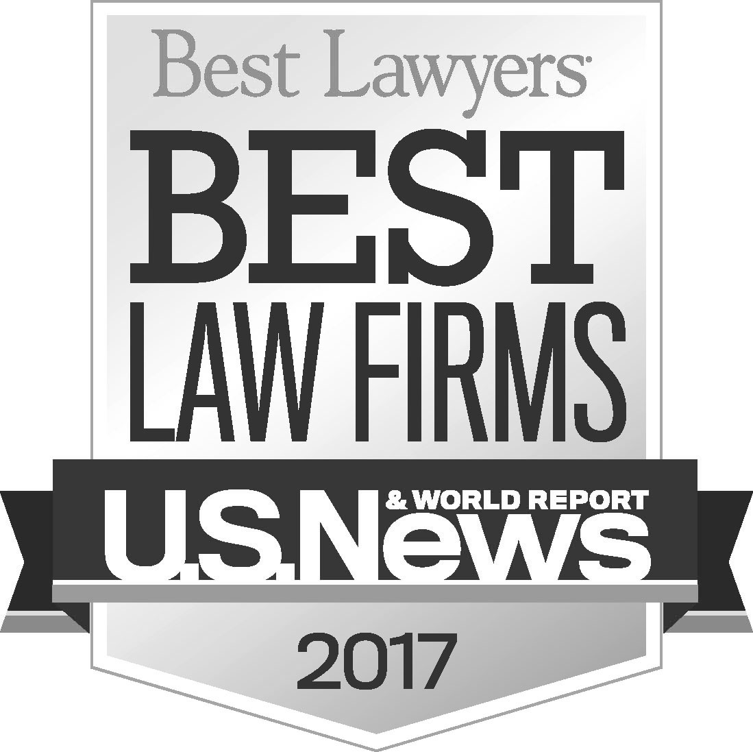 "U.S. News & World Report and Best Lawyers ""Best Law Firm"" 2017"