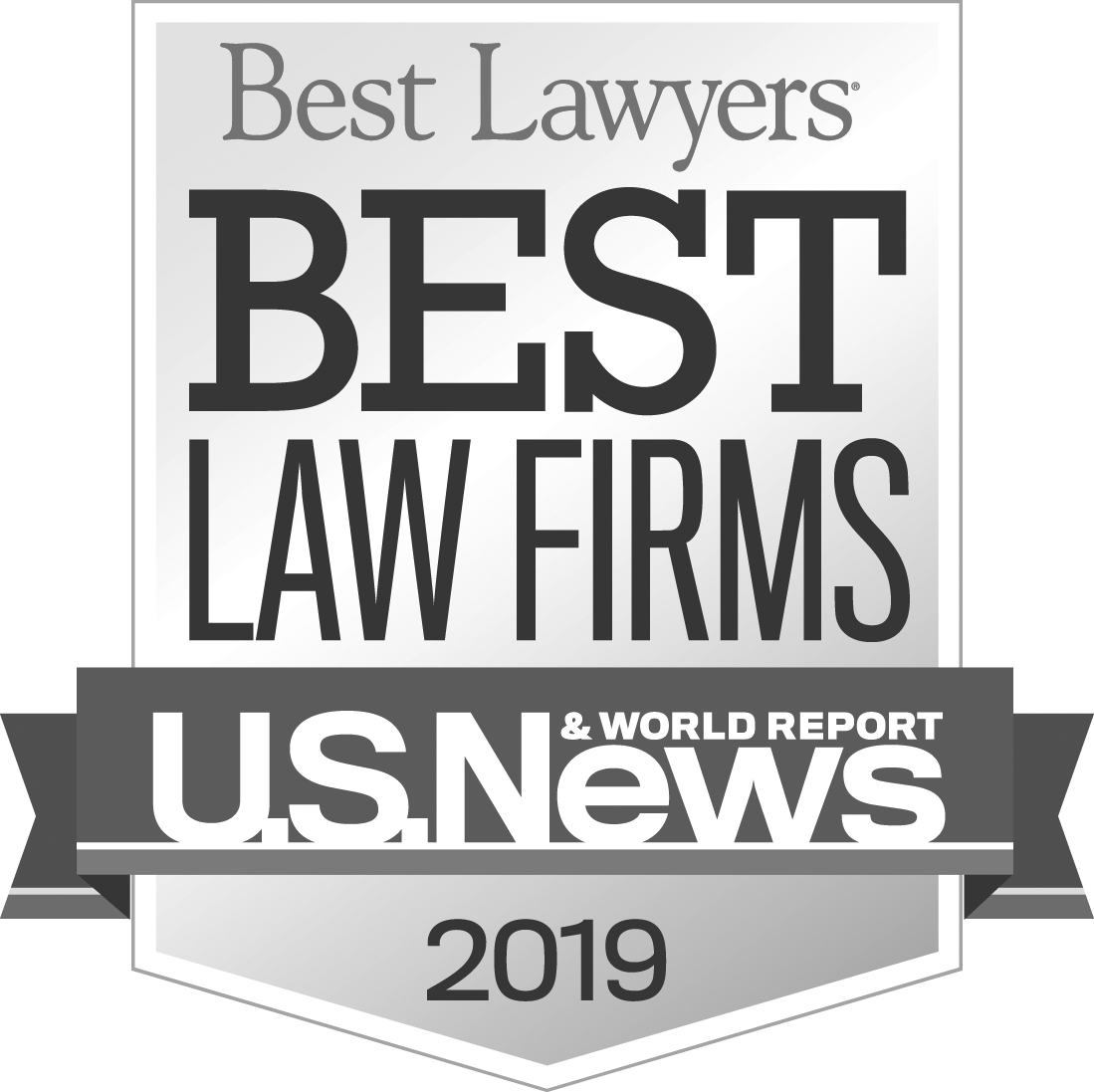 "U.S. News & World Report and Best Lawyers ""Best Law Firm"" 2019"